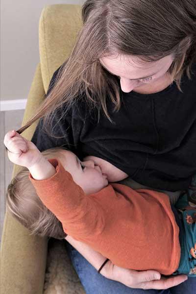 Links borstvoeding Madelief